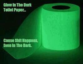 Life is like a toilet paper roll -- it gets shorter near the end.