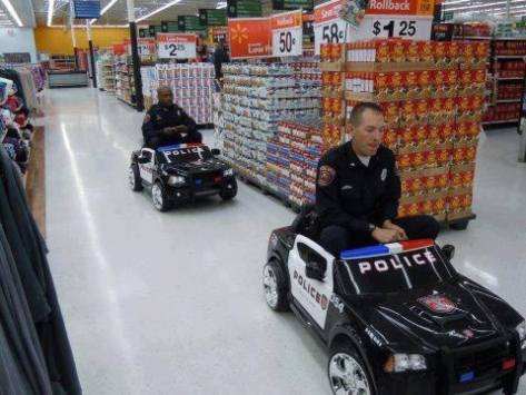 The recent trend has been that there is an increasing amount of crime happening in Wal-Mart stores